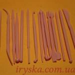 Набір паличок для мастики - міні