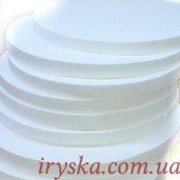 Пінопластові підложки для тортів та тістечок, h 2 см, Ø 32см, 3 шт