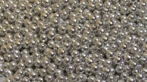 цукрові кульки 5 мм срібного кольору, 10 г
