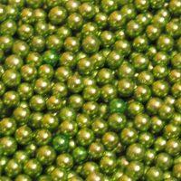 Бусинки цукрові 5мм зеленого кольору