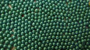 Бусинки цукрові 5мм бірюзового кольору