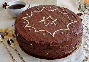 Шоколадний ірландський торт