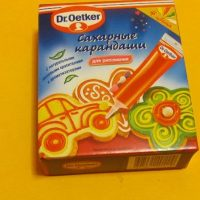 Олівці цукрові Dr.Oetker