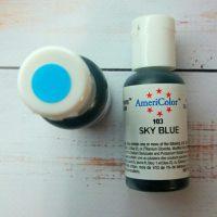 Барвник гелевий харчовий,Sky blue Americolor