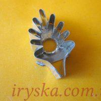 Вирубка металева Листочок ромашки