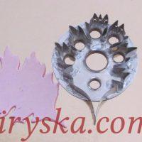 Вирубки металічні, квіти,листя,предмети