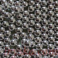 Цукрові кульки 7мл, срібло,100 г