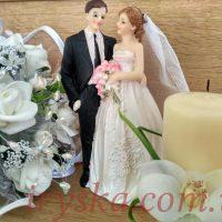 Статуетка весільна-4 h-15см 5шт