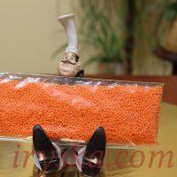 Посипка цукрова - оранжева, 1 кг