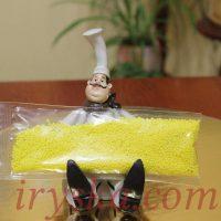 Посипка цукрова - жовта, 1 кг