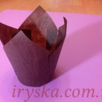 Паперові форми Тюльпан