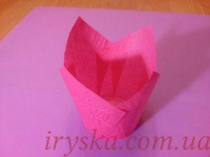 Паперові форми Тюльпан Рожеві, 10 шт