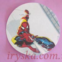 Вафельний декор Спайдермен
