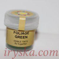 Сухий барвник для квітів Foliage green, Sugarflairs,зелене листя