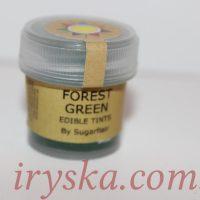 Сухий барвник для квітів ,Forest green ,Sugarflairs,зелений ліс