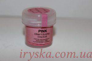 Сухий барвник для квітів Pink, Sugarflairs,рожевий.