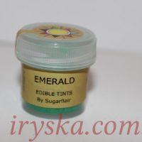 Сухий барвник для квітів Emerald, Sugarflairs,смарагд (ізумруд)