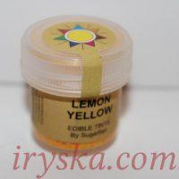 Сухий барвник для квітів Lemon yellow, Sugarflairs, лимон