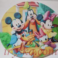 Вафельний декор Міккі маус та його друзі номер 1