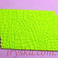 Силіконовий килимок шкіра крокодила