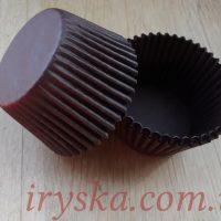 Паперові форми для випічки, коричневі, Україна, 25 шт