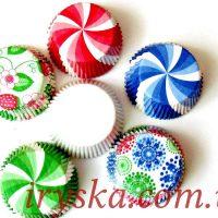 Паперові форми для кексів