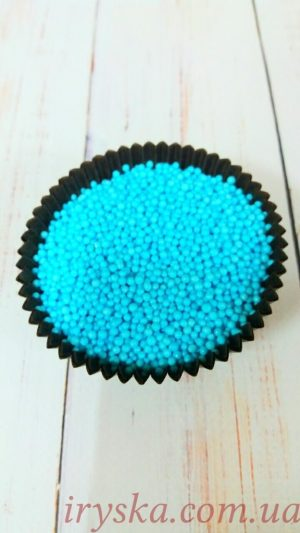 Посипка цукрова Нонпарель голуба