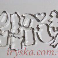 Вирубки металічні для печива Asort