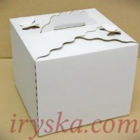 Коробка для торту, фігурні краї