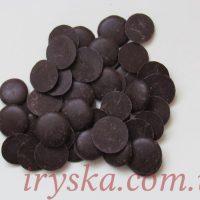 Шоколадна маса чорна (80% вміст какао) 0,5кг