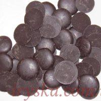 Шоколадна маса чорна ( 40% вміст какао) 200г
