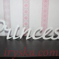 Слово Princess, матеріал ПВХ
