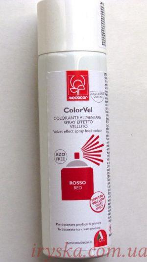 Спрей-велюр червоний 250мл (Італія)
