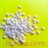 Посипка Сніжинка біла цукрова 50 г