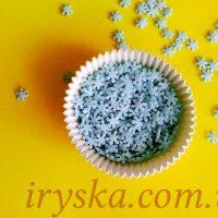 Посипка Сніжинка блакитна цукрова 50 г