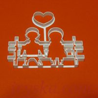 "Вирубка пластикова "" Love is"
