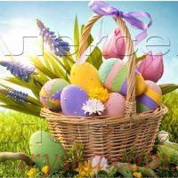 Вафельний декор Великодень (номер 2)