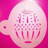 Трафарет яйце декор, розміри 10*7.5 см