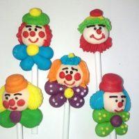 Декор Клоуни 5 шт, набір