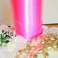 Стрічка рожева поліпропілен 5мм 5 м