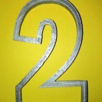 Вирубка цифра 2