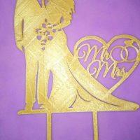 Топер Закоханий рай золото