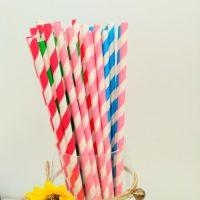 Паперові трубочки для кенді-бару 10шт