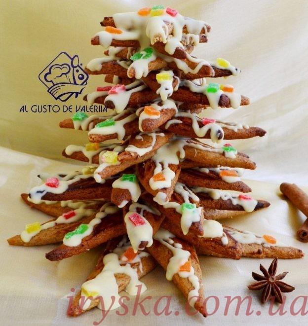 Як зробити їстівну новорічну ялинку)