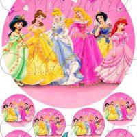 Вафельний декор Принцеси +на кекси