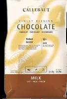 Шоколад молочний,Бельгія Коллебаут 200г