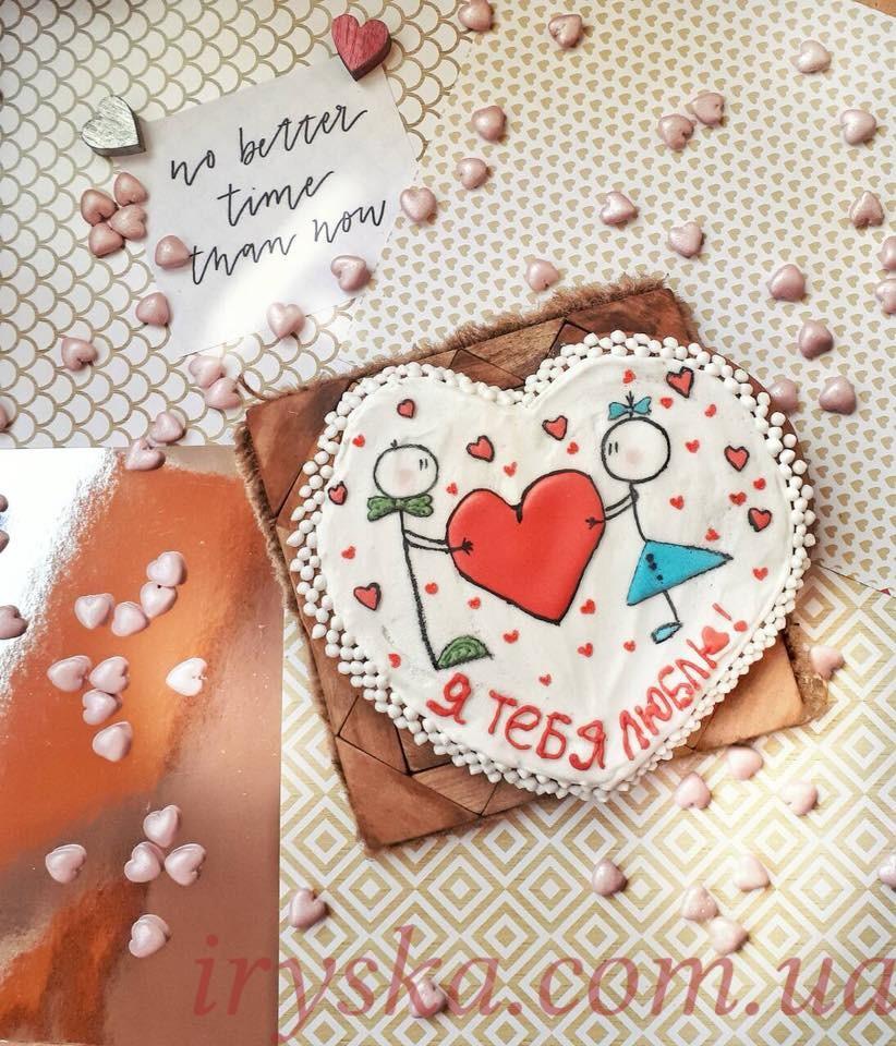 Валентинки пряники цікаві ідеї