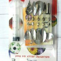 Набір насадок + шприц для створення 3-D квітів в желе