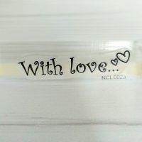 Штамп With Love