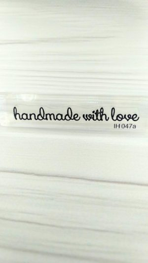 Штамп Handmade with Love